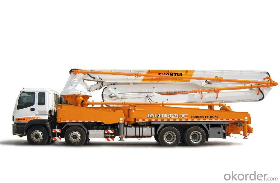 Concrete Pump Truck Factory Supply 52m Truck Mounted