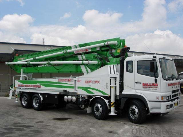 Concrete Pump Truck Diesel 13mpa 145kw