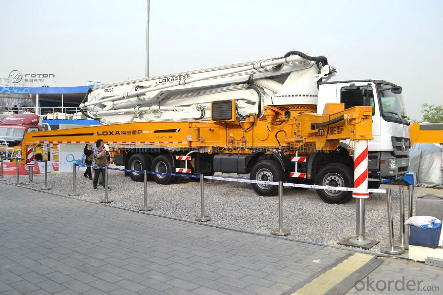 Concrete Pump Truck  52m with Chassis