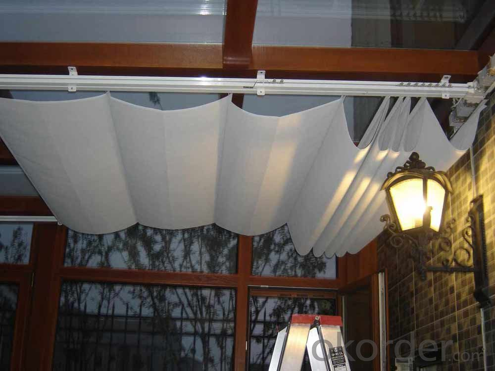 FTS Scroll Skylight Roof Blinds for Sunshade Project