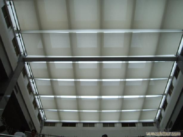 Motorized FCS Folding Skylight Blinds for Sunshade