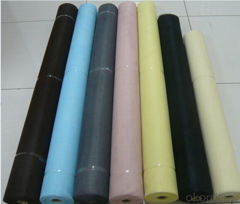 Fly Stop Fiberglass Screen Mesh  for Window and Door