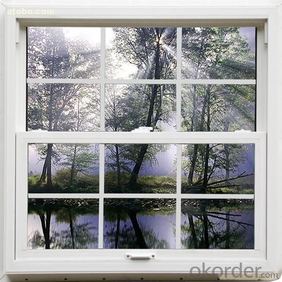 PVC Casement Window with CE ISO Manufacturer