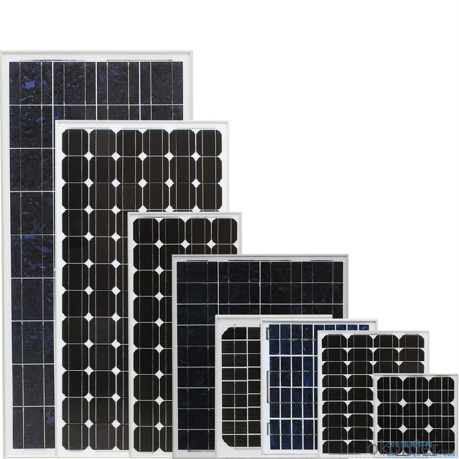 260W CE/IEC/TUV/UL Certificate Mono and Poly 5W to 320W Solar Panel