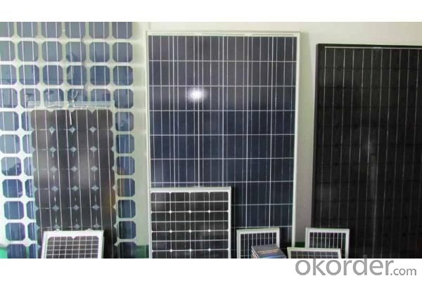 270W CE/IEC/TUV/UL Certificate Mono and Poly 5W to 320W Solar Panel