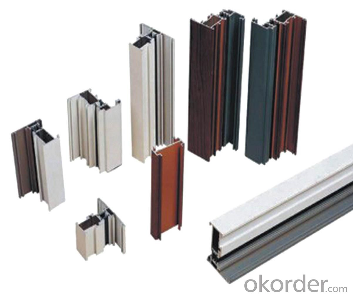 Anodized Golden Aluminium Profiles for Casement Window Ghana