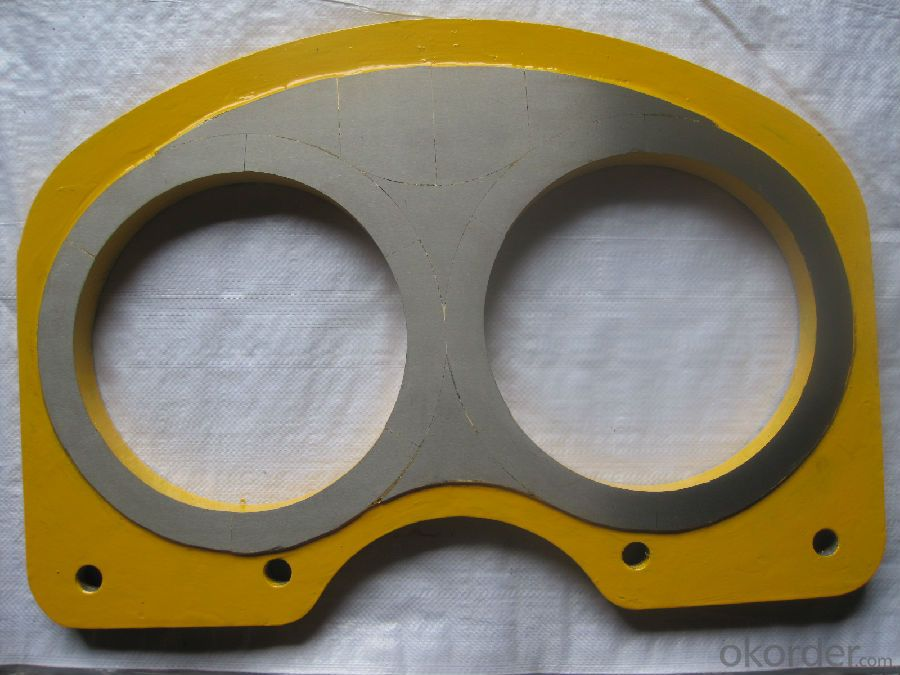 DN200 Spectacle Wear Plate  for Schwing Concrete Pump