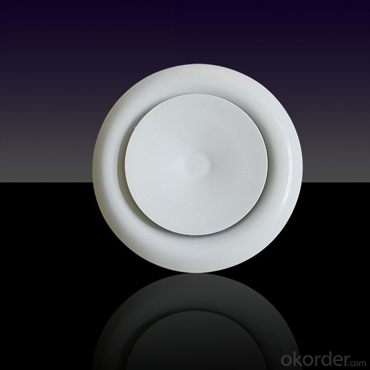 Circular Outlet/adjustable Diffuser/Air Conditioning Ceiling Diffuser