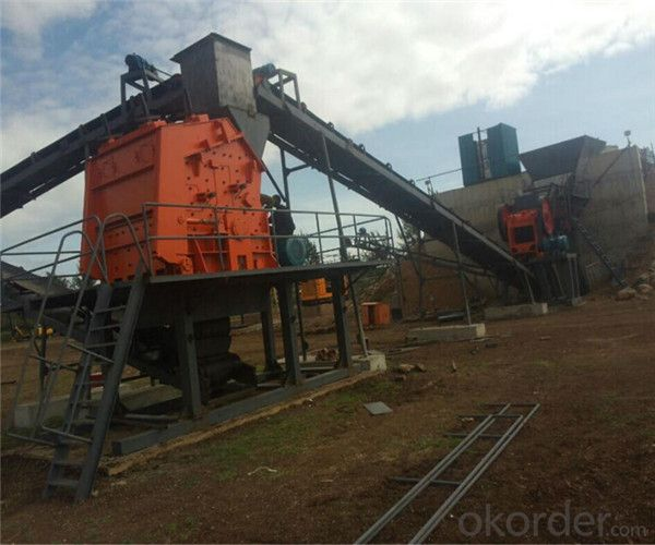Medium Hard Stone Impact Crusher with Long Using Lifetime