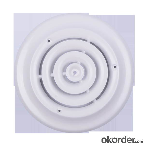 Round Air Diffuer for Ceiling & Sidewall Use Air Conditioner