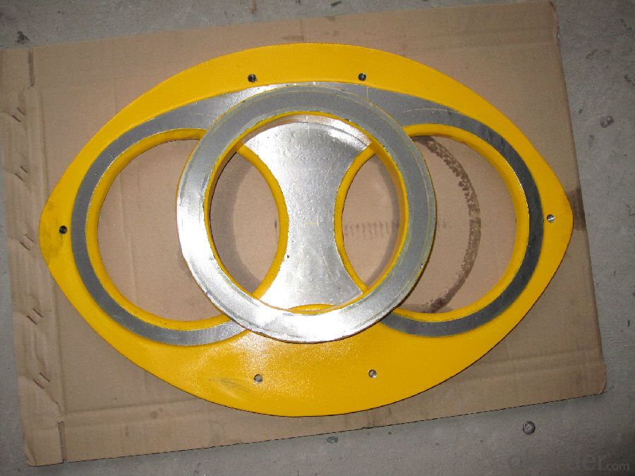 Spectacle Wear Plate  for Putzmeister Concrete Pump