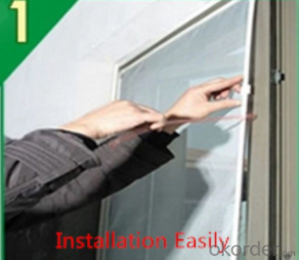 DIY Magnetic Window Easy Installation