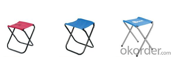 Folding Camping Stool with Colors for Fishing