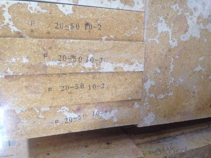 Refractory Silica Brick for Glass Furnace G-94