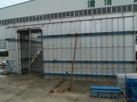 PVC Foam Formworks for Falt Walls Building