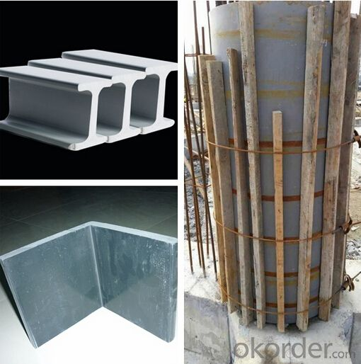 Long Using Plastic Formworks for Column