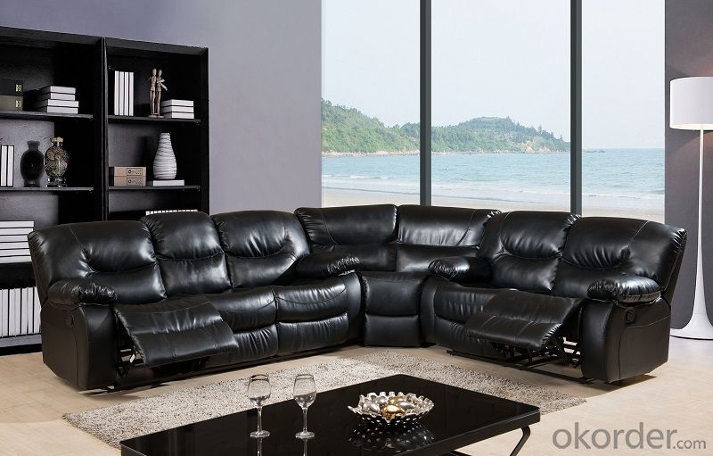 Recliner Sofa with Best Quality Chinese Leather