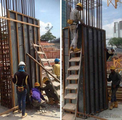 Economic Plastic Formworks for Concrete Pouring