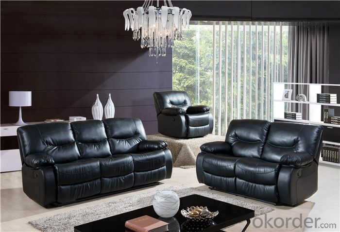 Leather Recliner Sofa with High Quality Material