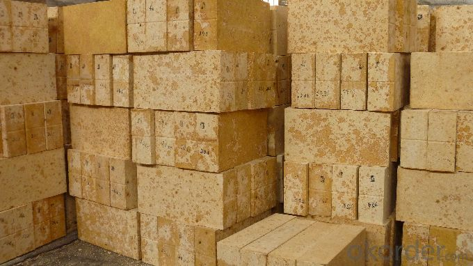Refractory Silica Brick for Glass Furnace G-96A