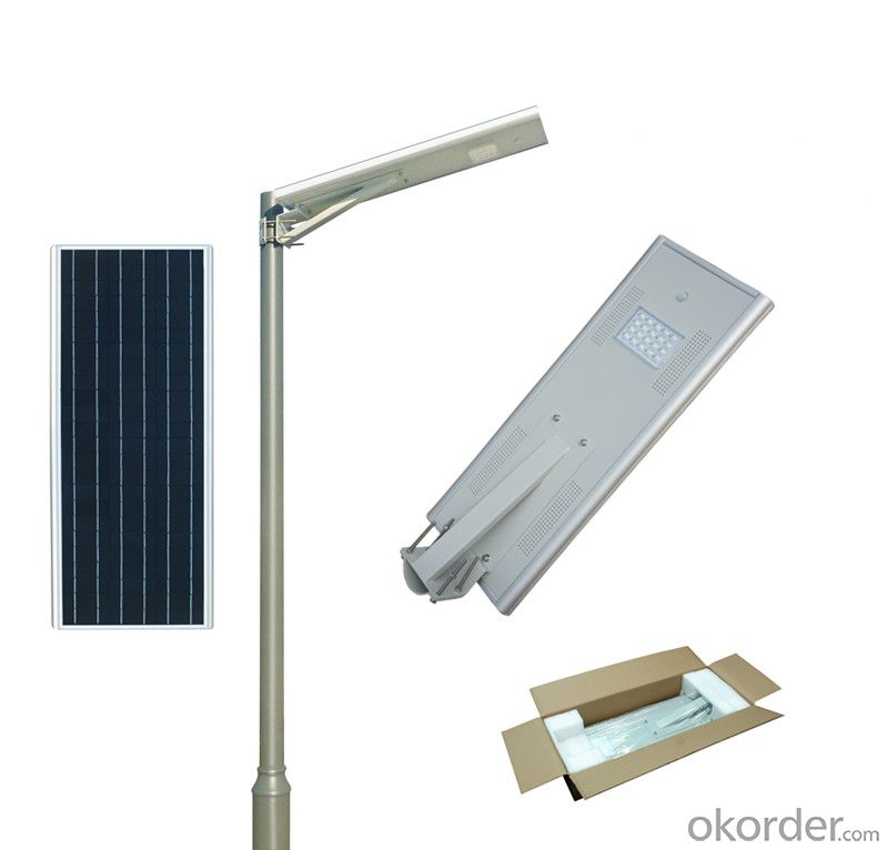 18W solar garden light solar energy integrated street lamp solar street lamp solar LED street lamp