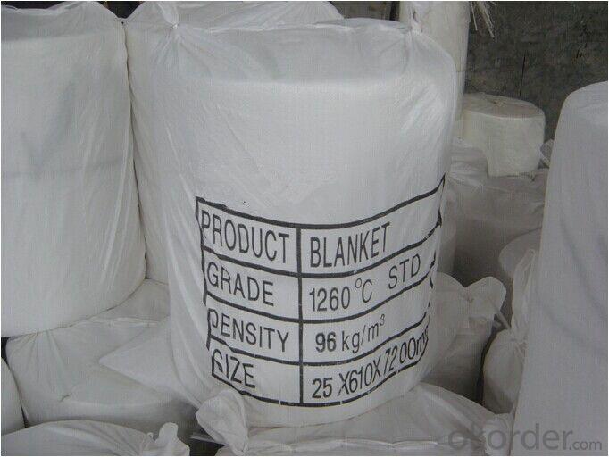 Ceramic Fiber Blanket for Industrial Oven Insulation