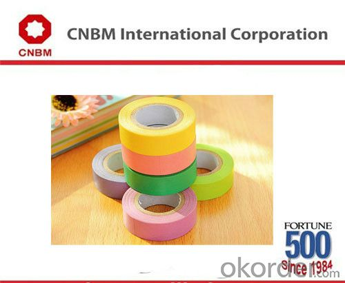 Profession Manufactuer for Masking Tape with Many Colors