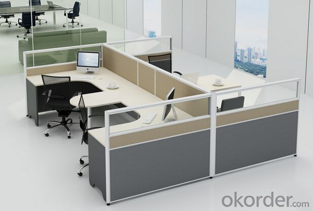 Modern Office Workstation Cubicle Call Center