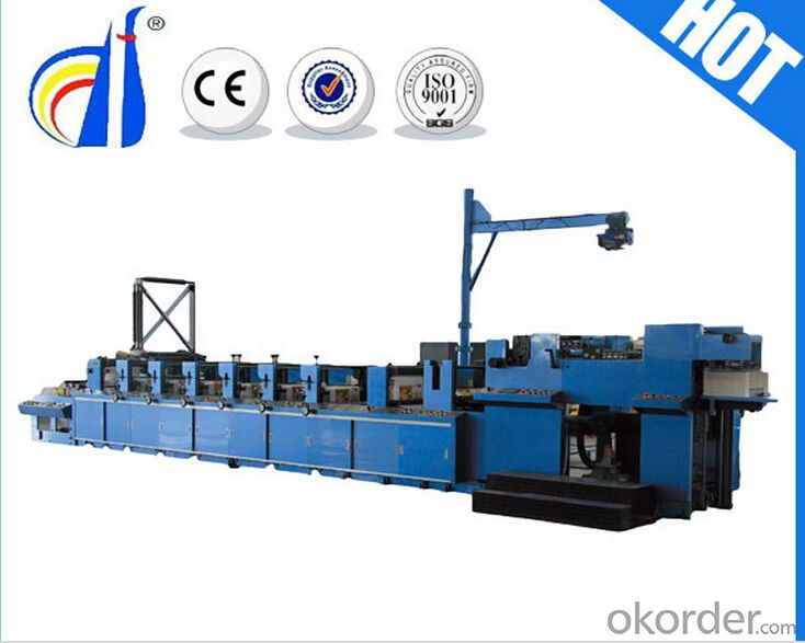 CMAX Flexo Printing Machine For Paper Cups