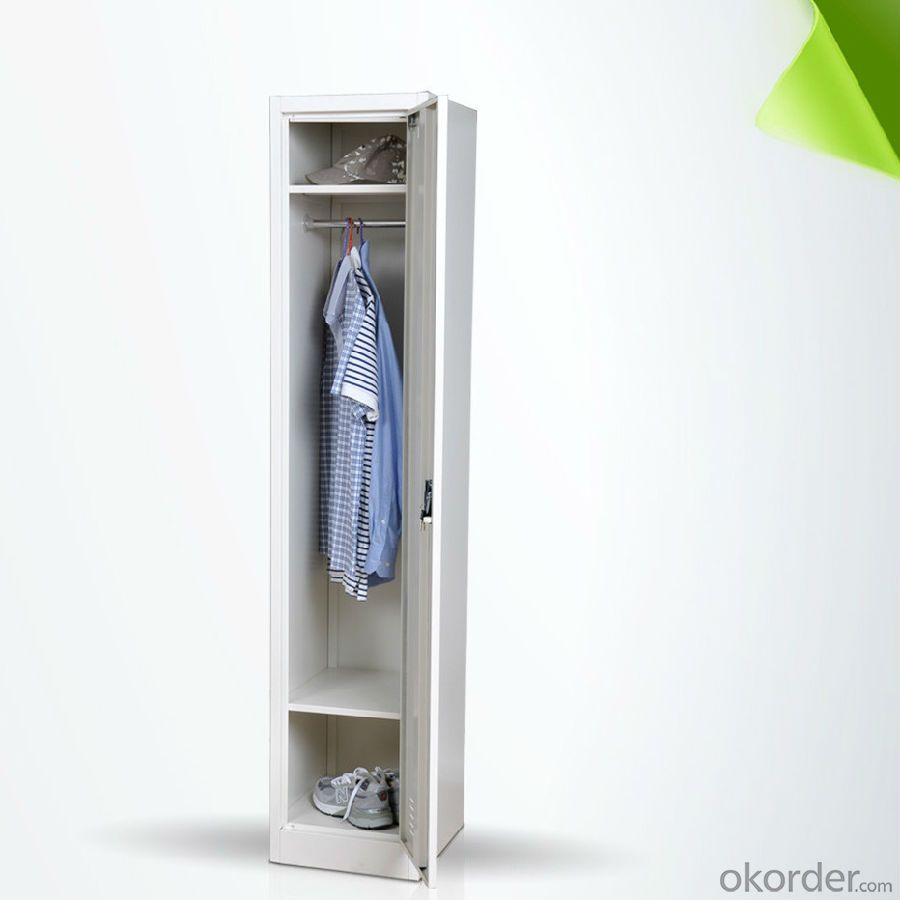 One Door Metal Locker Steel Cabinet CMAX-001