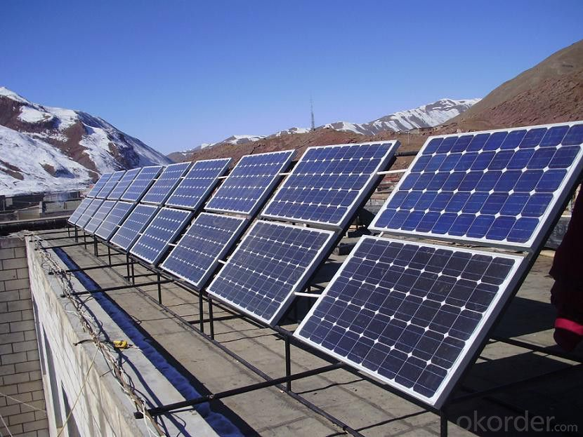 Monocrystalline Silicon 200w Solar Module