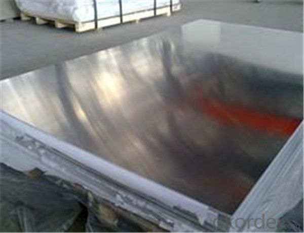 Aluminum Sheet with Blue Film Covered 1050 1060 1100 H14