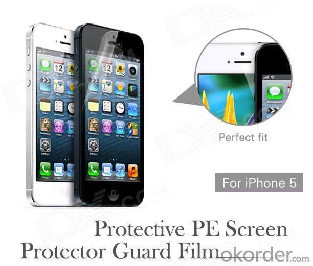 Screen Protector Mirror Color Tempered Glass Screen Protector For iPhone 5
