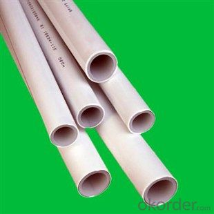 PVC Pipe with 110MM 0.6MPa 0.8MPa 1.25MPa High Quality
