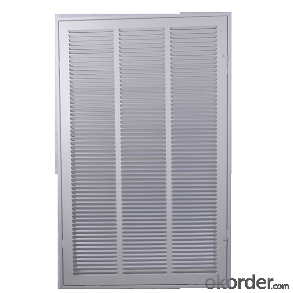 Square Air Vent Grilles for Ceiling use Air Conditioning