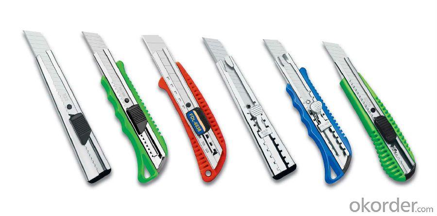 Easy Cut 18mm Utility Knife 01-L3 Co-molded Utility Knife