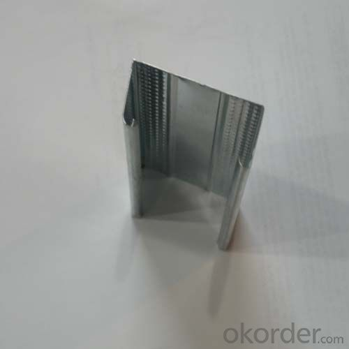Galvanized C channel Metal Stud for Drywall