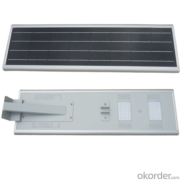 40W ALL IN ONE integrated solar LED street light  solar garden light  energy integrated street lamp