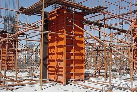 Steel Frame Formwork for Concrete Pouring of School Building