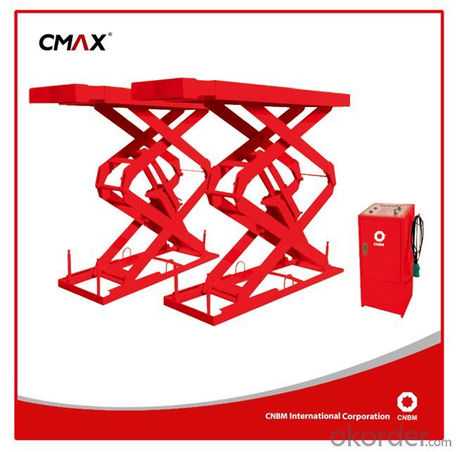 Competitive price Auto Scissor Lift GL2.7 Car Lift for Auto Car Body Shop Low Ceiling Shop GL270