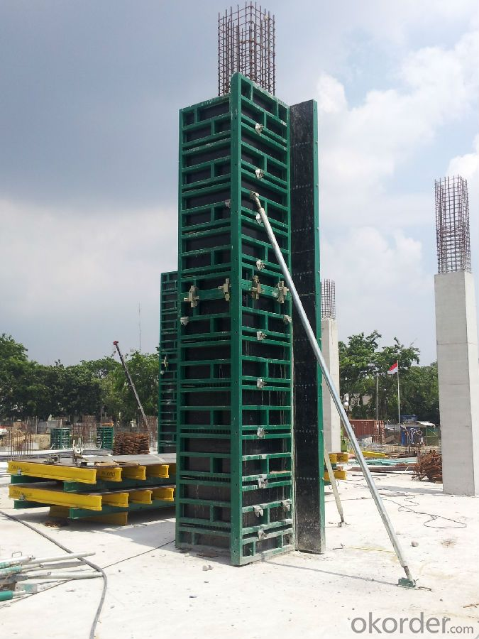 CONSTRUCTION FORMWORK SYSTEMS  of Steel-Frame Formwork