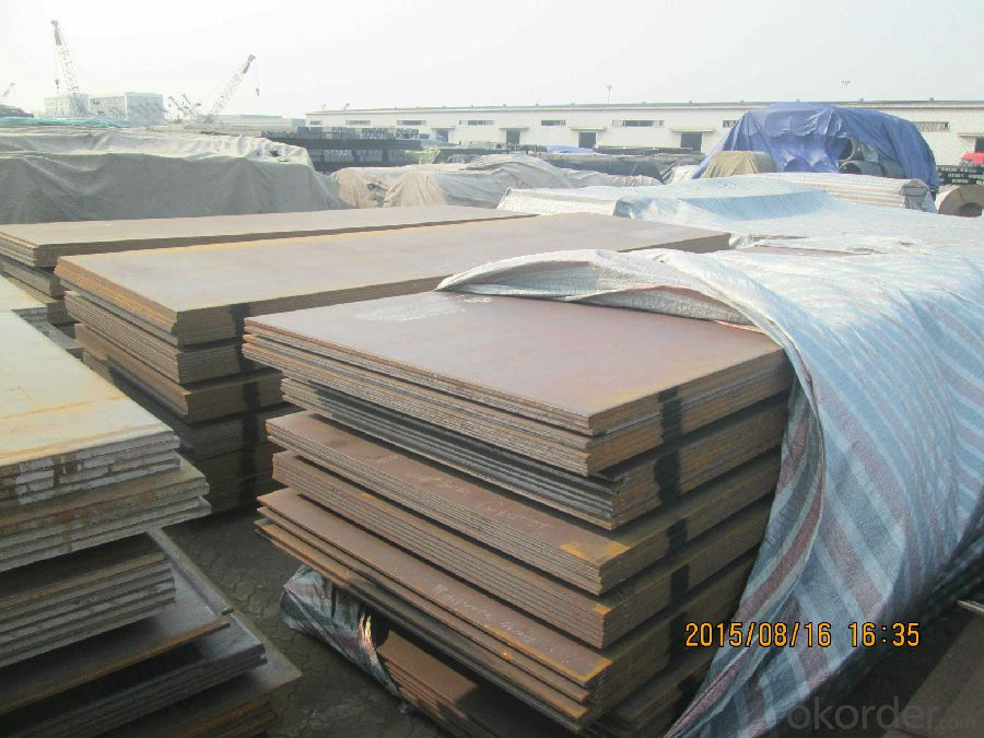 Hot Rolled Steel Plates Steel Sheets made in China