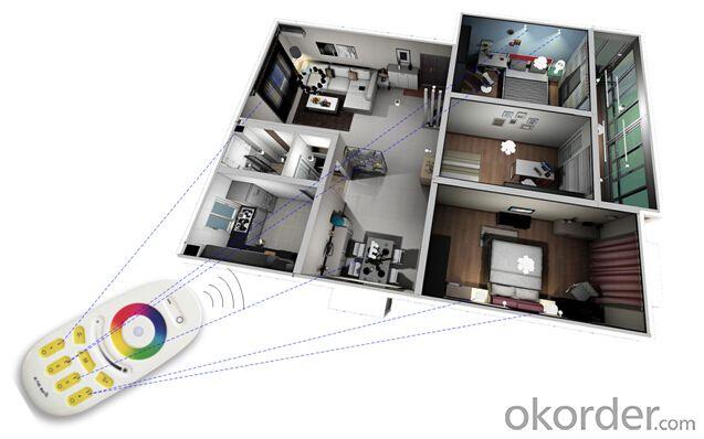 LED bulb remote controller 2.4G remote controller RF remote control