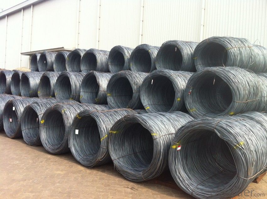 Hot Rolled Steel Wire rods in Grade SAE1006-1018