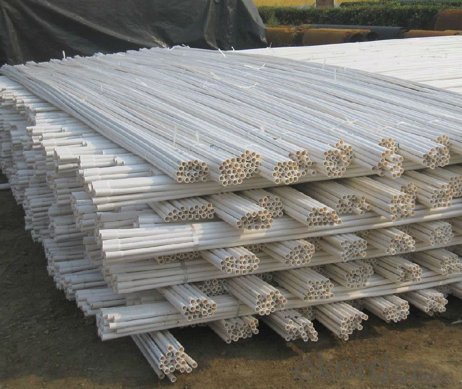 PVC Pipe Red Material: PVC Specification: 16-630mm Length: 5.8/11.8M
