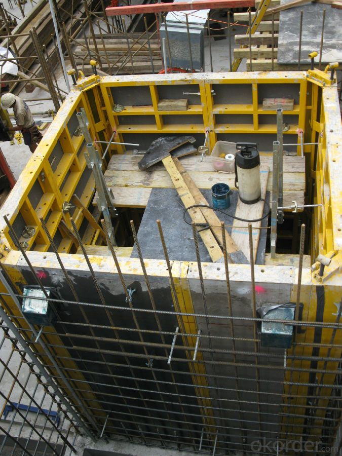Steel-Frame Formwork FOR CONSTRUCTION FORMWORK SYSTEMS