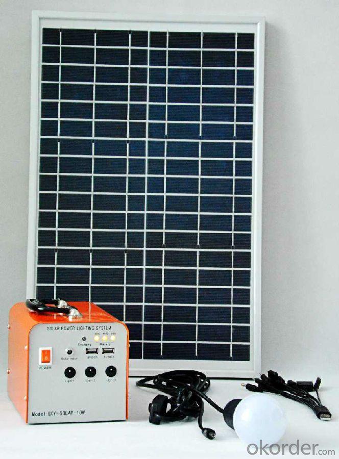 30W Solar power generation system solar system Solar field charging lighting system