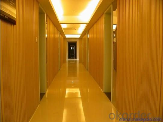 PVC Panels For All Kinds of Interior Walls Decorating As Real Wood Wall