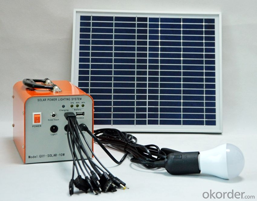 20W Solar System Solar power generation system Solar charging system Solar power lighting