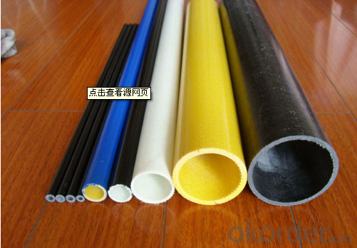 FIBER GLASS REINFORCED PLASTICS PIPE with UV Resistance
